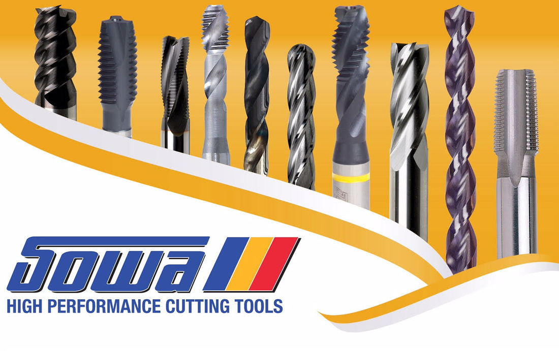 Sowa Cutting Tools taps drill end mill