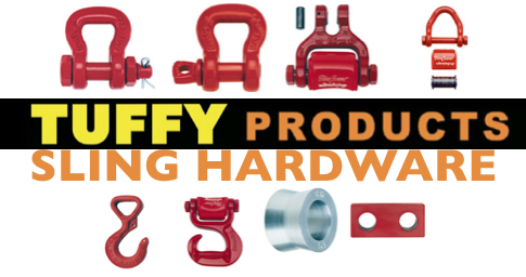 Tuffy Sling Hardware Shackles