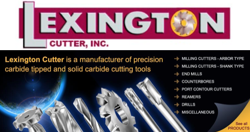 Lexington Cutter Carbide Tipped Cutting Tools